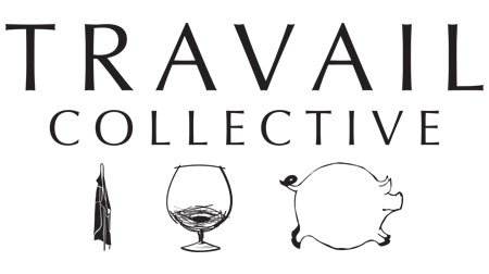 Pig Ate My Pizza and Travail Logo