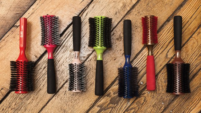 Hair brushes at Brushopolis