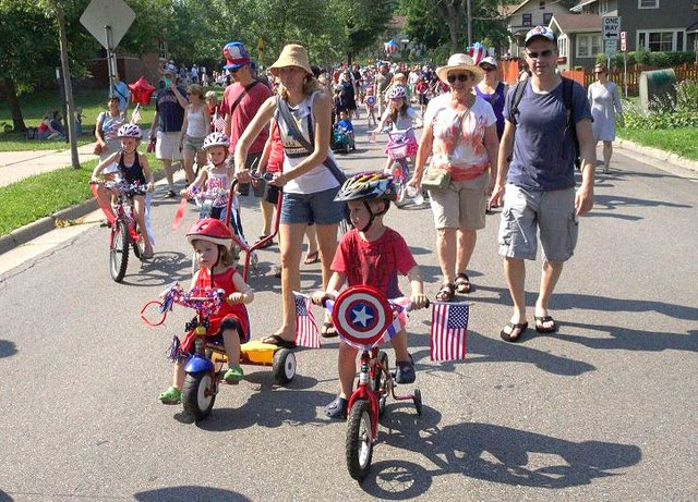 Tangletown 4th of July Parade