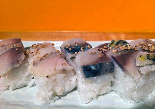 Sushi Takatsu Saba Oshizushi