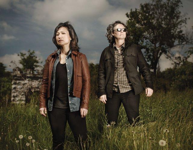 Ann Kim and Kim Bartmann