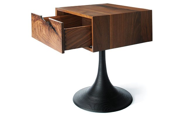 A wooden endtable from Woodsport