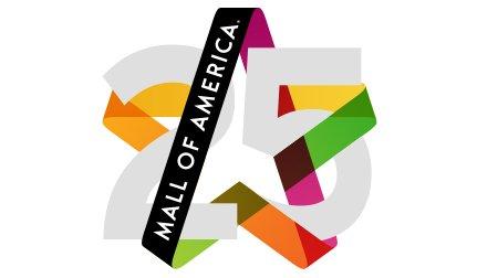 Mall of America 25 Logo