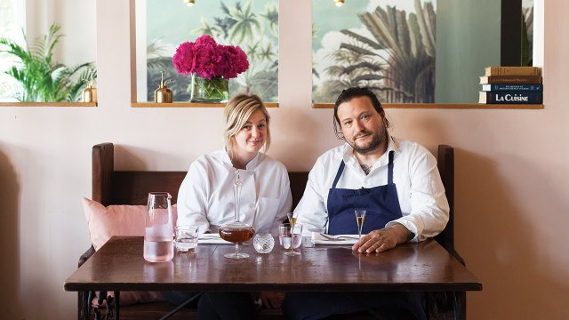 Chefs/owners Jamie Malone and Erik Anderson