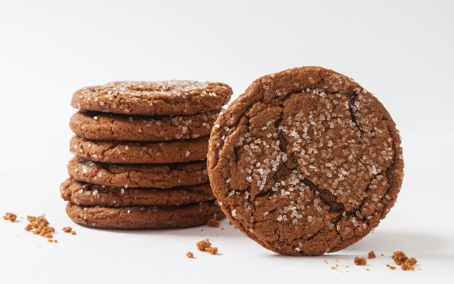 Ginger molasses cookie from Rustica Bakery