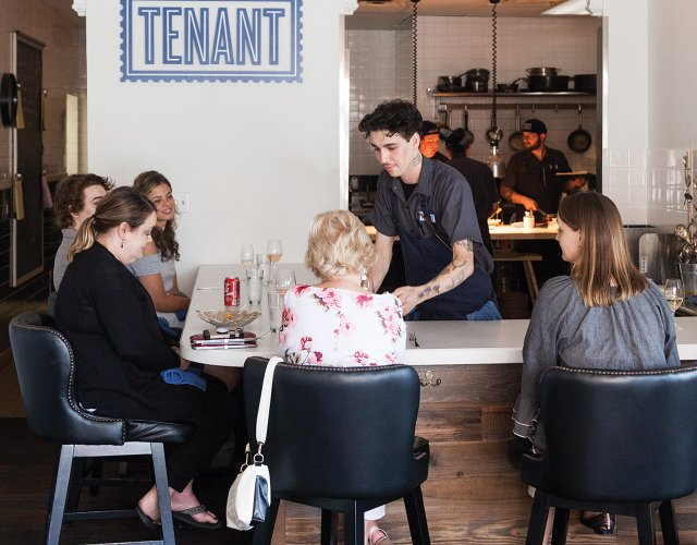 Tenant restaurant