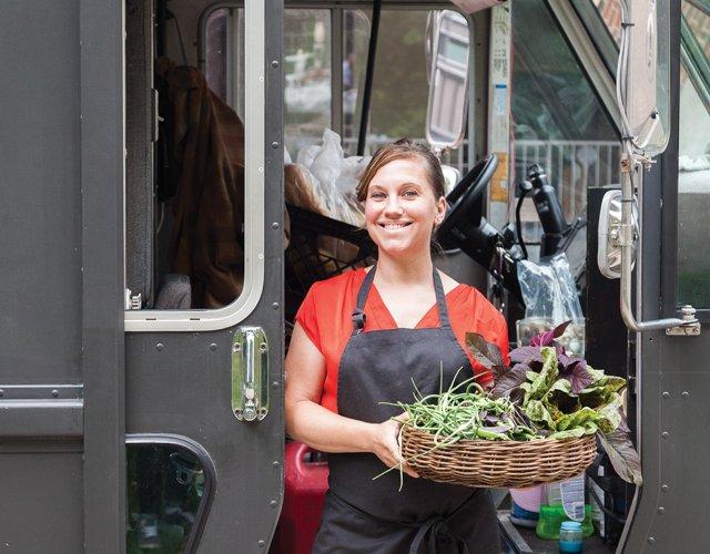 Peeps Hot Box chef Jessi Peine