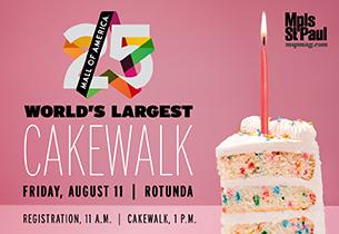 MOA Cake Walk Event Listing
