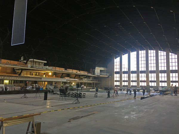 Minneapolis Armory construction