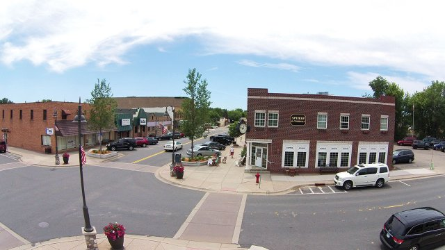 Main Avenue in downtown Prior Lake