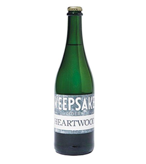 Heartwood cider at Keepsake Cidery