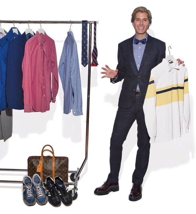 Douglas Marshall, fashion collector