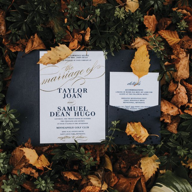 Taylor and Sam invitations