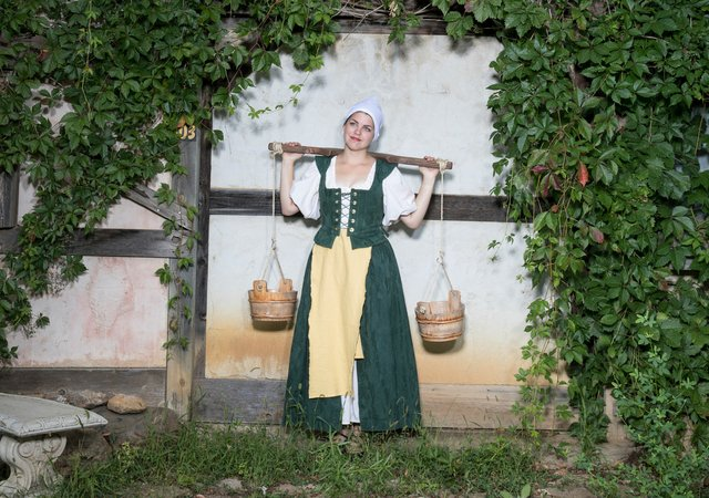Milk Maid at the Renaissance Festival