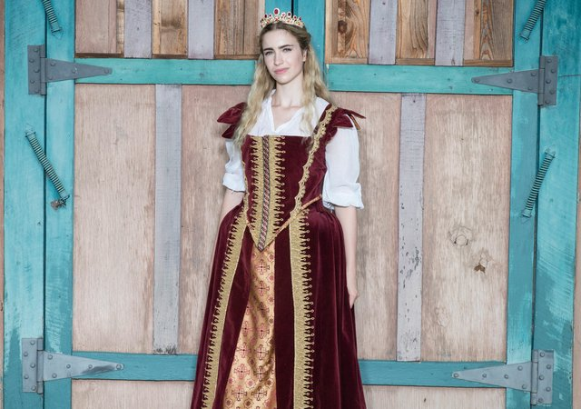 Princess Cordelia at the Renaissance Festival
