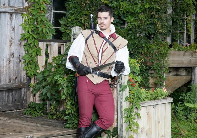 Benedick at the Renaissance Festival