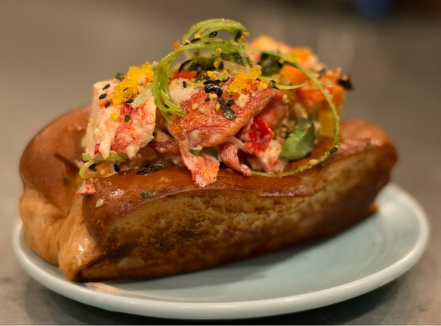 Octo Fishbar Lobster Roll