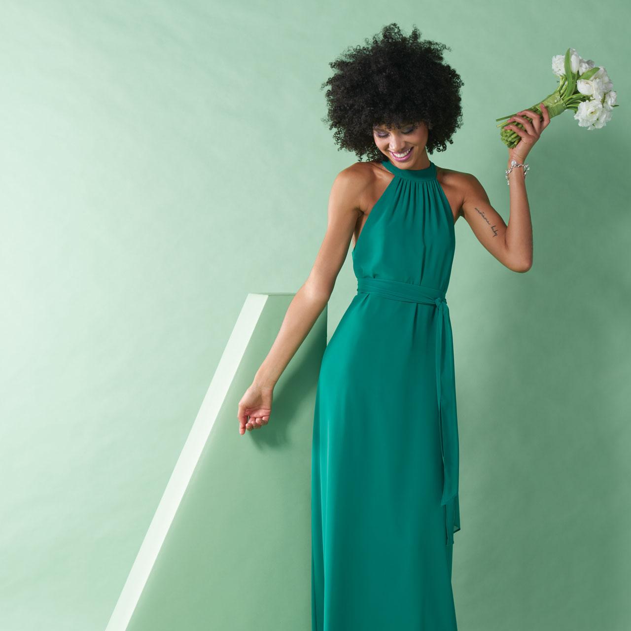 Bright, Colorful Bridesmaid Dresses