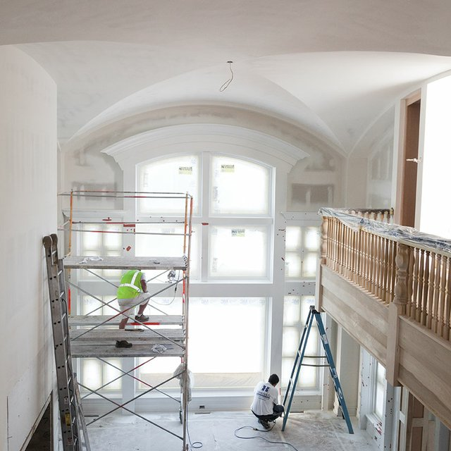 home interior remodeling project