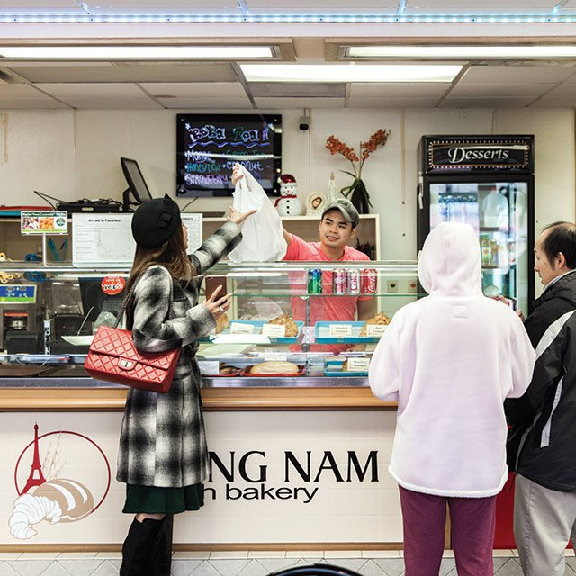 Trung Nam French Bakery