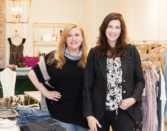 44 North store owners Molly Kleinman and Jodi Coughlin