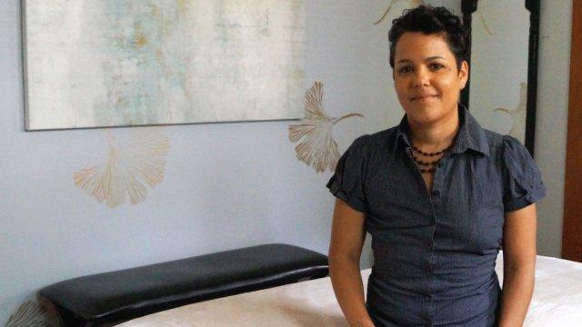Taina Burgos owner and CIO of Avivage Massage