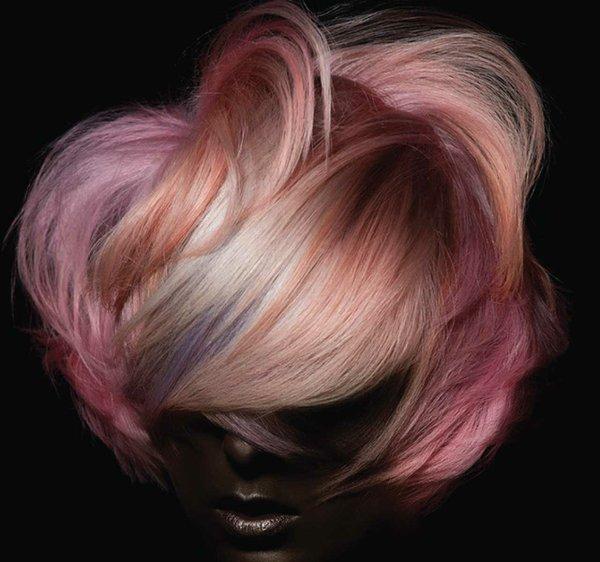Hair coloring by Matt Swinney