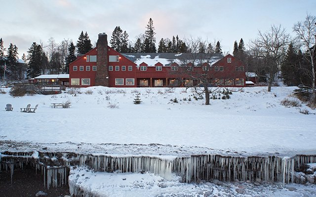Established in 1885, Lutsen Lodge sits on as fine a parcel of Lake Superior shoreline as there is.
