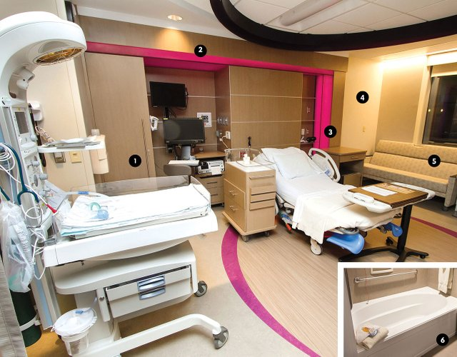 Mother Baby Center delivery room