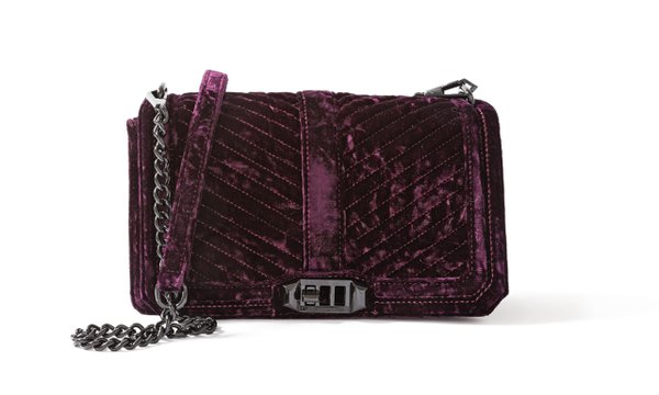 Velvet crossbody bag from Nordstrom