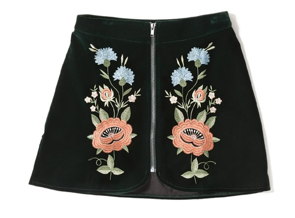 embroidered Mini skirt from Proper