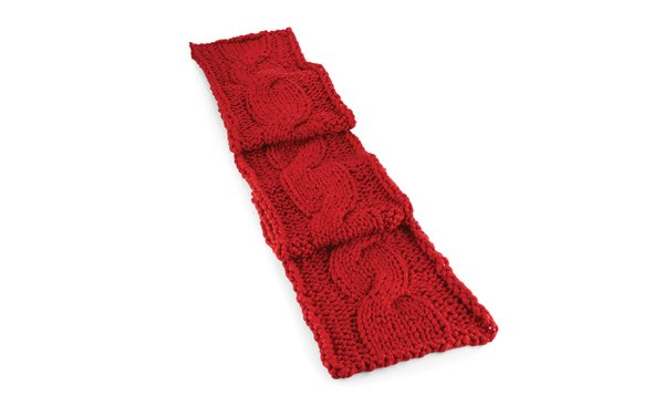 Knit table runner from Crate & Barrel