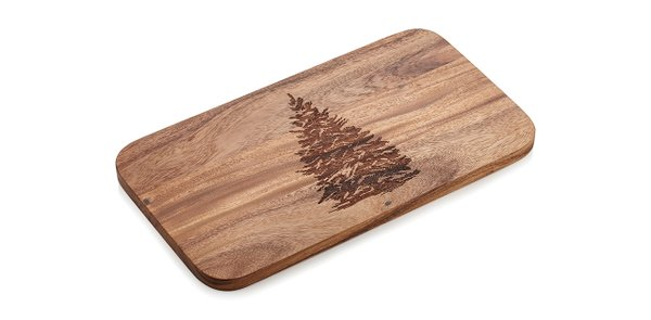 Evergreen tree serving board from Crate & Barrel