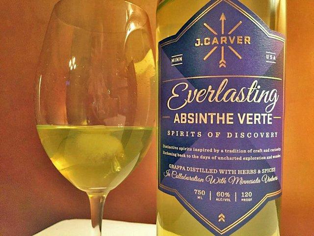 J Carver Absinthe