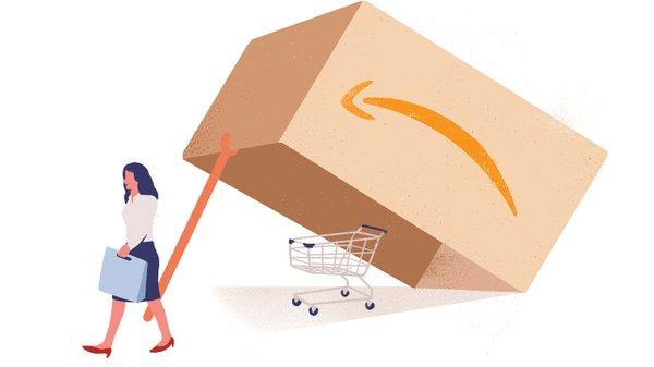 Illustration of Amazon