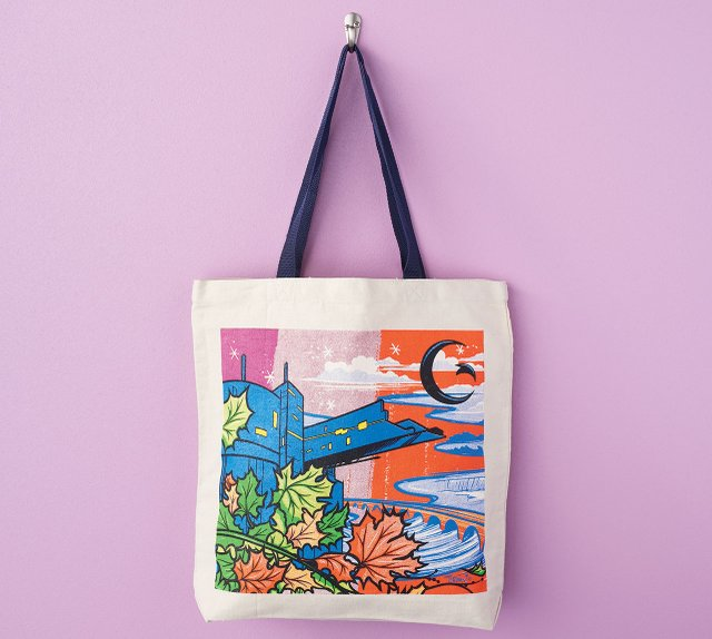 Guthrie Theatre tote bag
