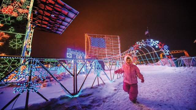 Bentleyville Tour of Lights in Duluth