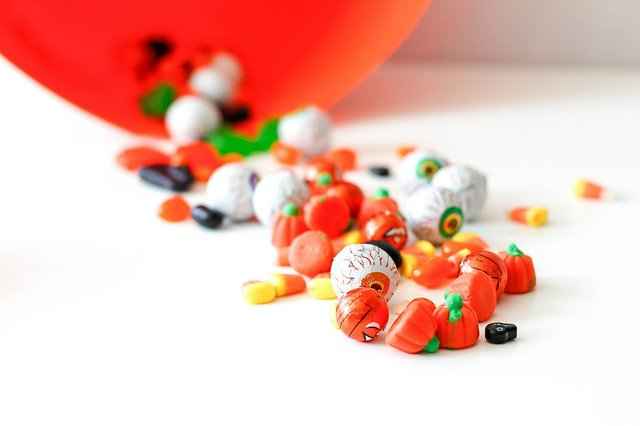 Mix of Halloween Candy