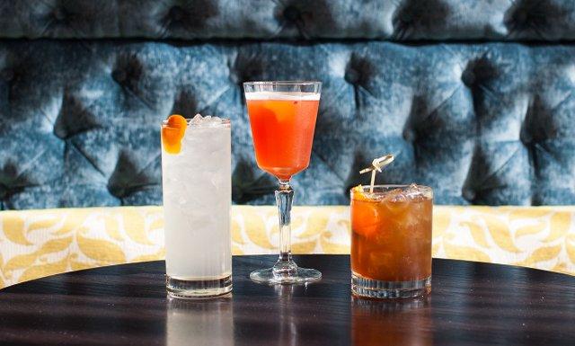 Cocktails at Parlour
