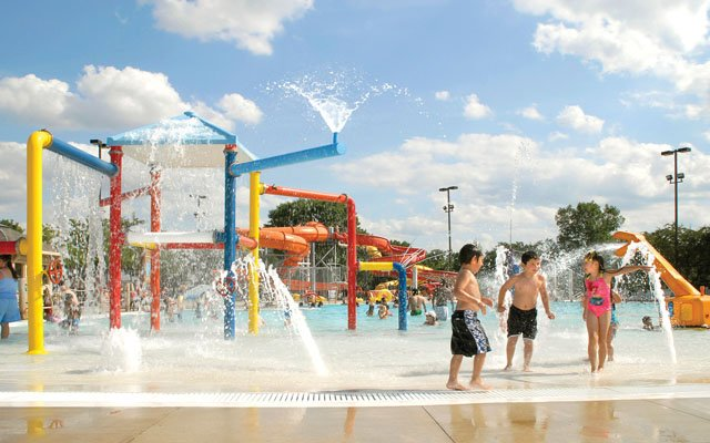 Jim Lupient Water Park In Northeast Minneapolis