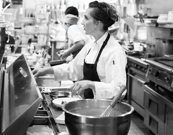 Chef Karyn Tomlinson at Corner Table