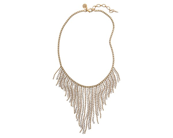 Box chain fringe necklace from Nordstrom