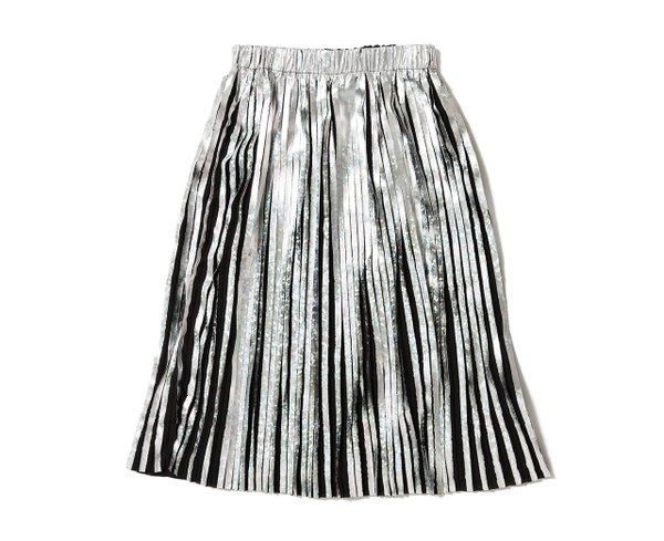 Hologram pleated skirt from Proper