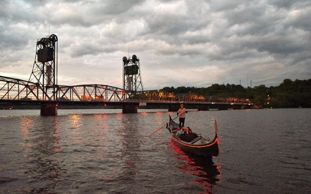 A Gondola Romantica cruise for two on the St. Croix