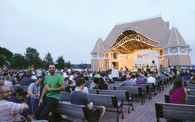 Lake Harriet Band Shell in Minneapolis