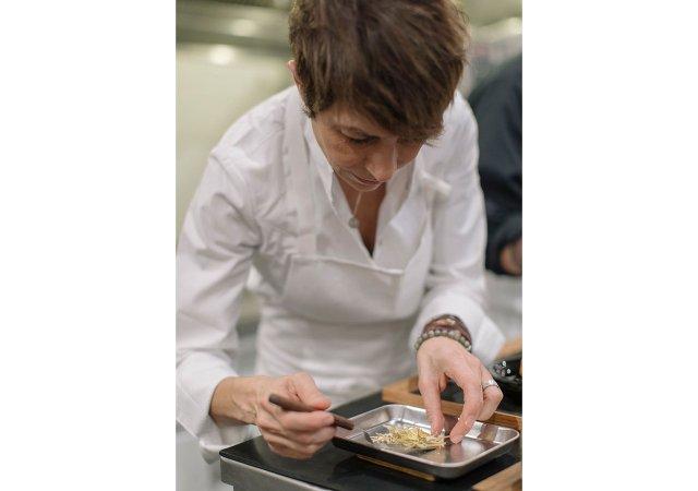 Chef Dominique Crenn