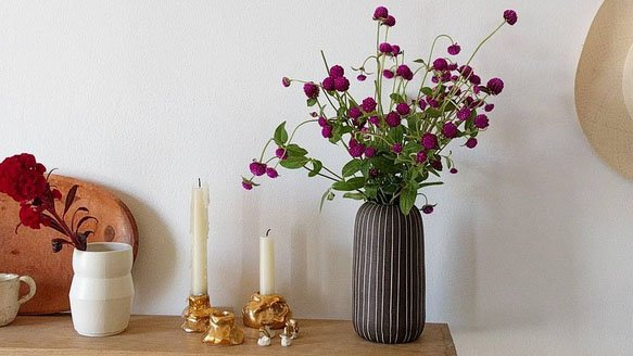 forage luster candle