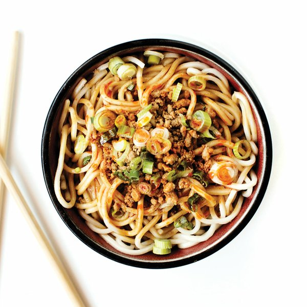 Dan Dan Noodles at Grand Szechuan