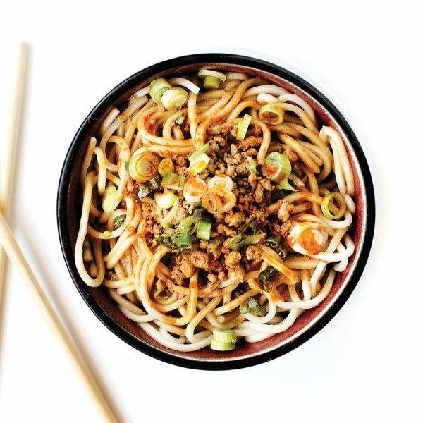 Dan Dan Noodles at Grand Szechuan