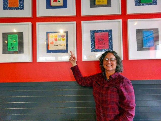 Kim Bartmann at Book Club